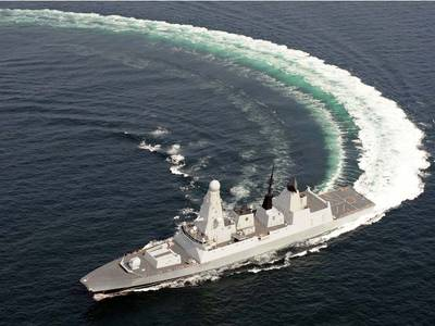 Royal Navy Type 45 Destroyer