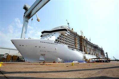 Royal Princess: Photo credit Fincantieri