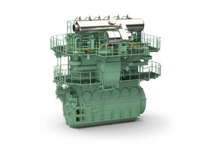 RT Flex 50DF Engine: Image courtesy of Wärtsilä