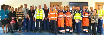 RT Hon Stephen Hammond MP and London Gateway Team