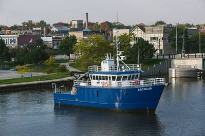 R/V Arcticus (Photo courtesy of Burger Boat Company)