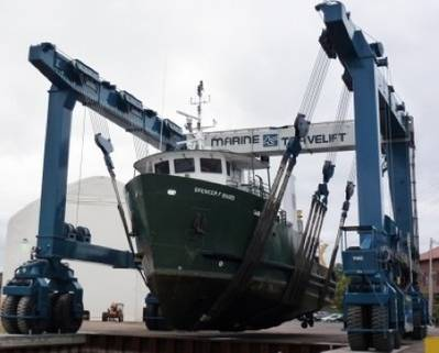 RV Spencer F. Baird: Photo courtesy of Great Lakes Shipyard