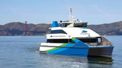 S SF Bay Ferry: Photo courtesy of San Francisco Bay Ferry Co.