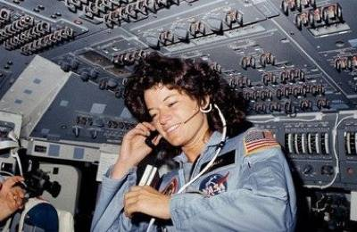 Sally Ride: Photo credit NASA