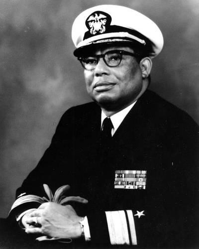 Samuel L. Gravely, Jr. (U.S. NHHC Photograph.)