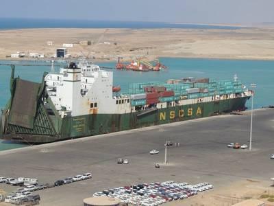 'Saudi Diriyah': Photo courtesy of Saudi Arabia Ports Authority