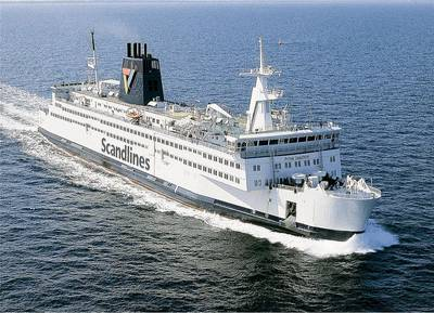 Scandlines Ferry: Photo credit the owners