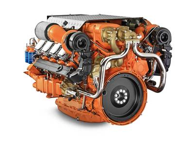 Scania 16-liter V8  EPA Tier 3 Engine