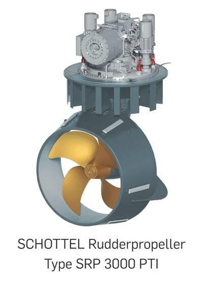 SCHOTTEL Rudderpropeller type SRP 3000 PTI (Image SCHOTTEL)