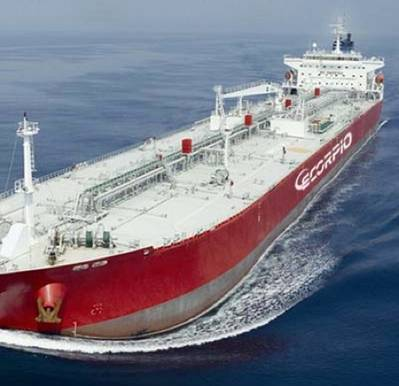 Scorpio tanker: Photo courtesy of the owners