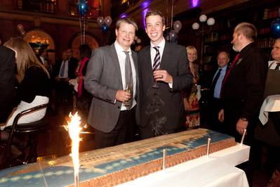 SEA Europe Chairman, Lars Gørvell-Dahll (Left) and SEA Europe Secretary General, Douwe Cunningham (Right)
