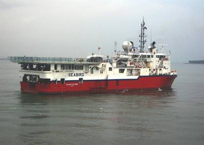 Seabird's 'Voyager Explorer': Photo credit Seabird Exploration