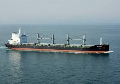 Seahorse 35000-class Bulker: Image credit Stone Marine Propulsions