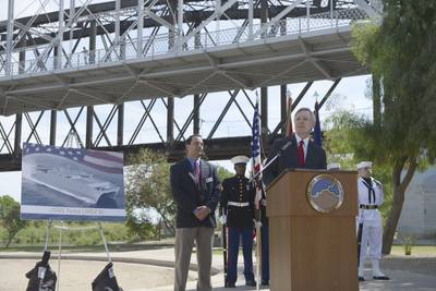 SECNAV at Yuma: Photo Navy, Public Affairs