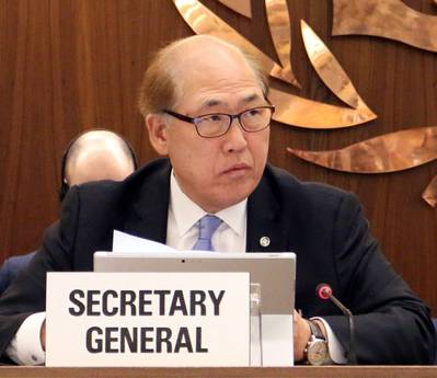 Secretary-General Kitack Lim (Photo: IMO)