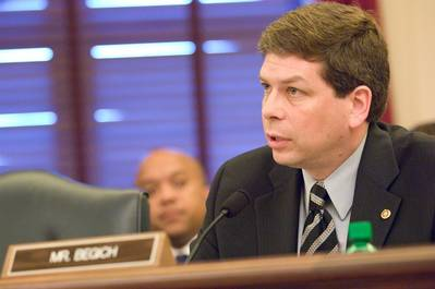 Senator Mark Begich: Photo credit Press Office
