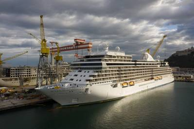 Seven Seas Splendor is the second cruise ship built by Finacntieri for Regent Seven Seas Cruises (Photo: Fincantieri)