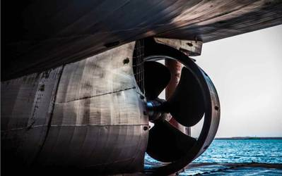 Ship propulsion: Image courtesy of LR/UCL