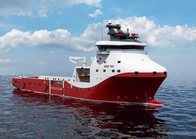 Siem Offshore's PSV: Image credit Wärtsilä