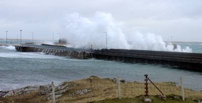 """""""... since the monitoring network was installed, we have recorded a sudden drop in temperature of 8°C in just 5 minutes at the port of Armadale on the Isle of Skye, and a maximum wind gust of 96 knots at Castlebay on the Isle of Barra."""""""