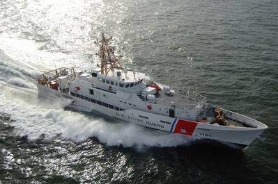 Sister ship of the William Flores, Bernard C. Webber operating in the U.S. Gulf of Mexico.