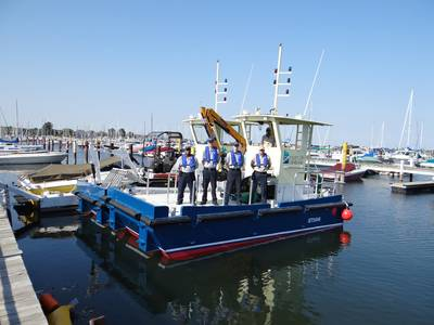 sister vessels – Flotsam & Jetsam – will work in tandem to collect and remove floating debris.