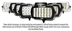 six new versions of its Trilliant LED WhiteLight Work Lamp.
