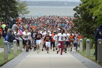 Sixth Annual Fun Run: Photo credit HII