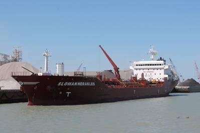 Sloman Herakles: Photo credit Port of Indiana