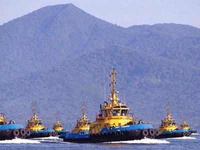 SMIT Brasil tugboats: Image Boskalis