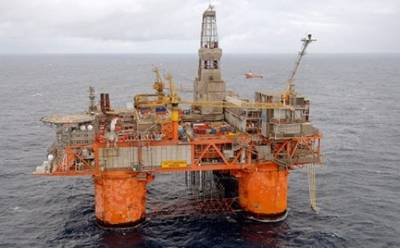 Snorre Rig: Image courtesy of Statoil