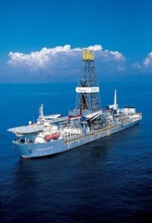 Transocean deepwater liftboat: Photo courtesy of Transocean