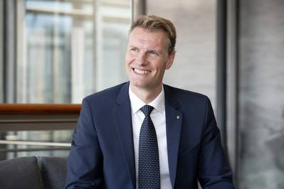 Soren Toft started his new role as CEO at MSC Mediterranean Shipping Company on December 2, 2020. Photo: MSC