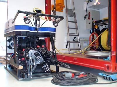 Sperre ROV for DBB. Photo: MacArtney