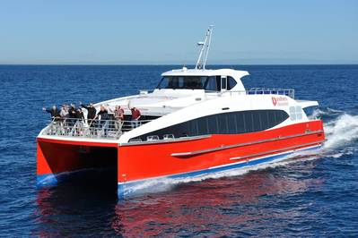 Spirit of Queenstown: Photo courtesy of Incat Crowther