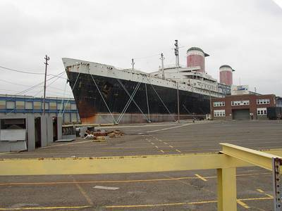 SS United States: Photo credit Wikimedia CCL