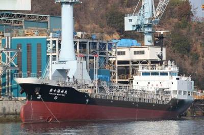 Stainless Steel Tankship: Photo courtesy of Hakata Shipbuilding