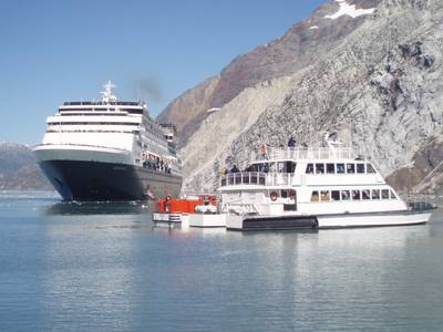 Statendam, Baranof Wind rescue: Photo credit Holland America Line