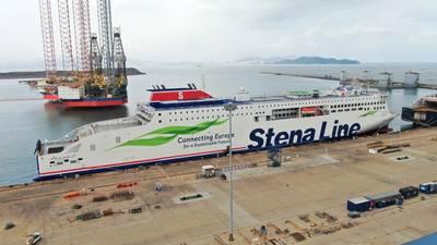 Stena Embla (Photo: CMI Jinling Weihai Shipyard)