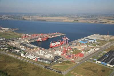 Aalborg Østhavnen/Grønlandshavnen: Photo courtesy of the port