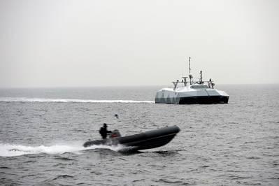 Stilettto Sea Demonstration: Photo credit NAVSEA