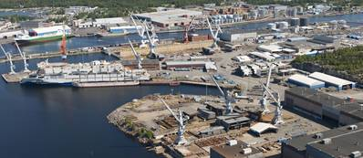 STX Rauma Shipyard: Photo credit STX Finland
