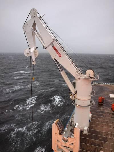 Sub-sea crane: Photo credit MacGregor