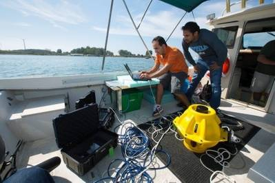 Subsea Internet R&D: Photo courtesy of UB