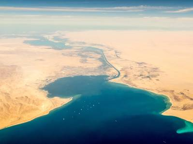 Suez Canal - Credit: Pabkov/AdobeStock