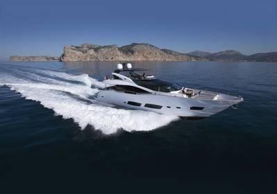 Sunseeker 28m Motor Yacht: Photo credit Sunseeker
