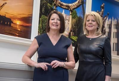 Susan Duguid (left) and Brenda Bryant (Photo: Cammach Recruitment)