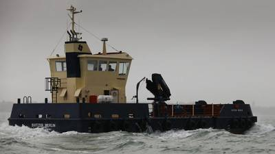 Svitzer Merlin is a twin screw, pontoon style, shallow draft work vessel built by Southampton Marine Services for Svitzer (Photo: Southampton Marine Services)