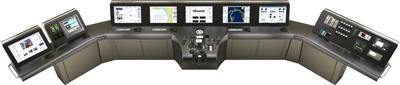 Synapsis Bridge Control is Raytheon Anschütz' new generation Integrated Navigation System.