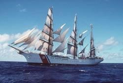 Tall Ship 'Eagle': Photo credit USCG